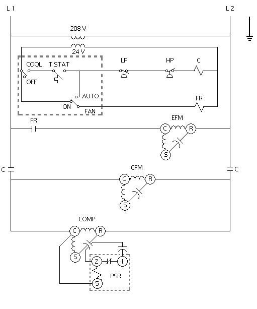 A Factory Air Conditioning Schematic For Your Unit Can